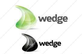Wedge Logo Template