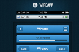 Wireapp Mobile UI Set