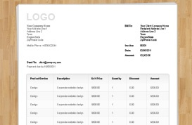 Templates Vandelay Design - Invoice template html