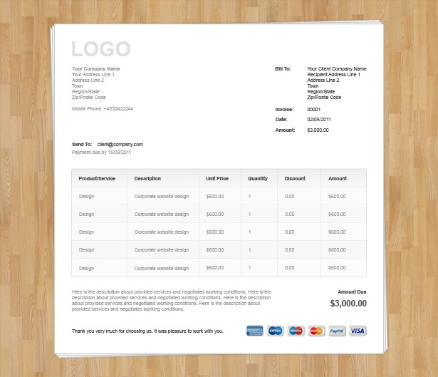 Payment And Receipt Excel   Html Template Invoice   Invoice Templatesinvoice Template  Receipt Processing Word with Invoice Discounting Uk Pdf  Html Template Invoice By Html Invoice Template Vandelay Design  Selling A Car Receipt Excel